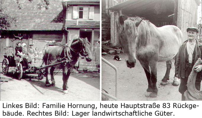 Hauptstraße 83 Lager Hornung