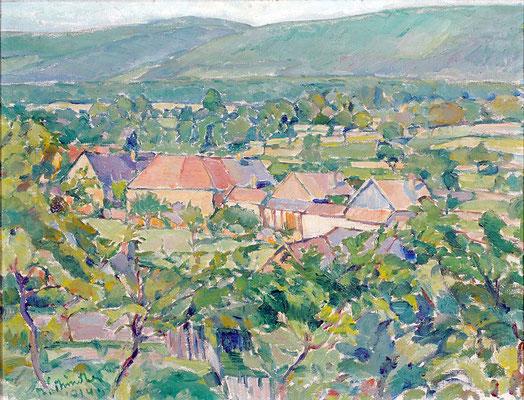 Kunsthalle Mannheim Sommerlandschaft 1914