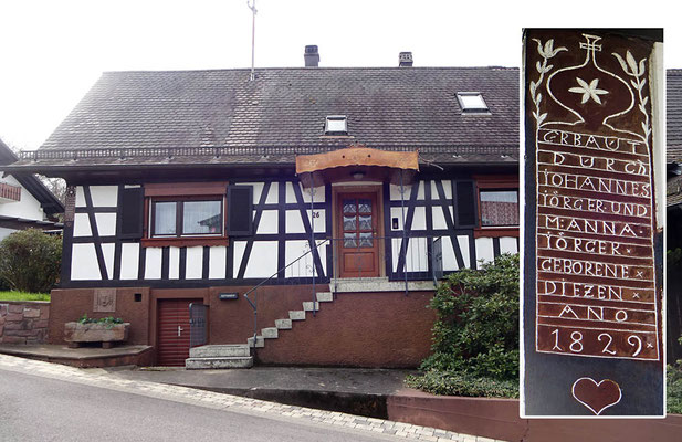 Sulzbach, Bergstraße 26, Haus Jörger