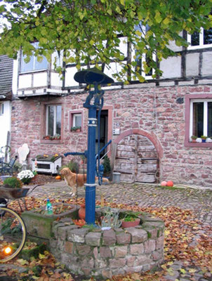Brunnen Storz Neumalsch Gasthaus Bären