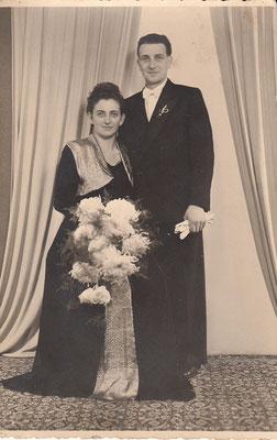 Hochzeit Friedel Späth und Erwin Späth, Nov. 1951