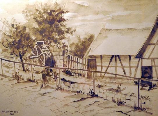 Mühlrad Bader 1982