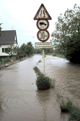Hochwasser 1978, Federbach, Jahnstraße