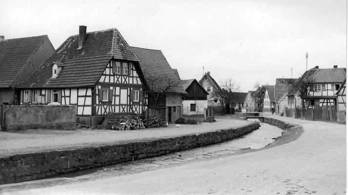 Neudorfstraße Federbach ab Adler, Ihli Cyriakus Haus 1805