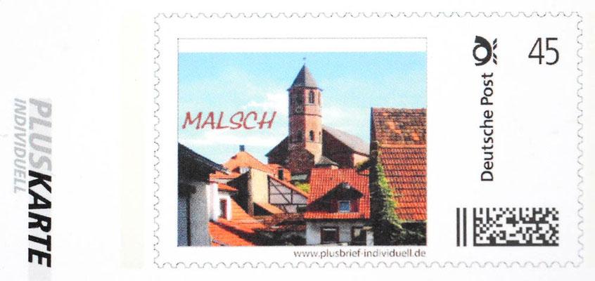 Selbstgestaltete Briefmarke