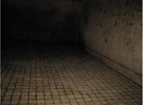 Eine der zwei vorjhandenen Wasserkammern mit jeweils einer Größe von 150 cbm