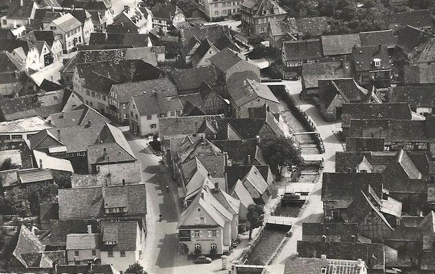 Adlerstraße bis zum Ochsen, heute Volksbank