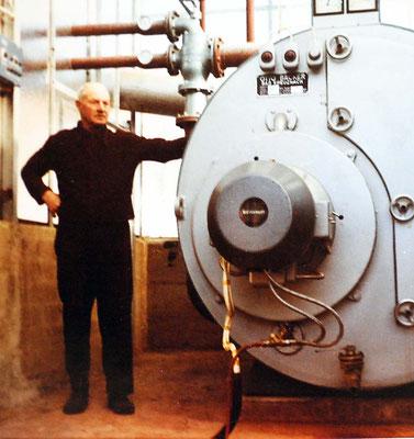 Adolf Pister, Kesselhaus