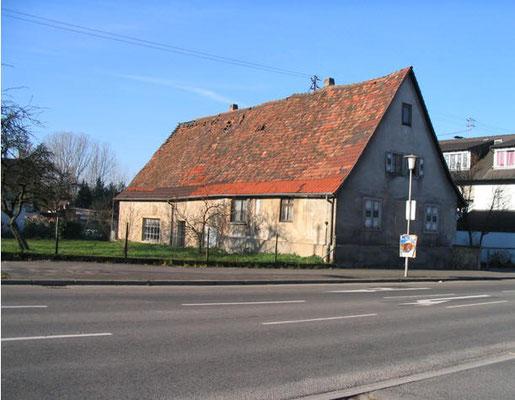Ehemaliges Haus Buhmann in der Sézanner Straße