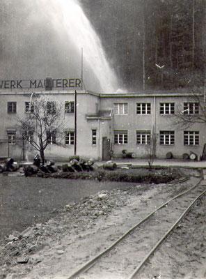 Wasserrohrbruch Mai 1941, interessant Schienen?
