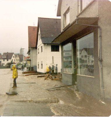 Adlerstraße 10 Hochwasser