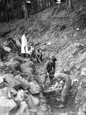 1942 Erweiterungsmaßnahmen für die Wasserkraftanlage