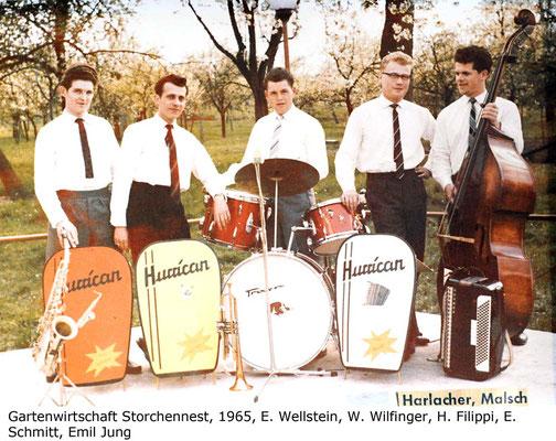 Biergarten Storchennest 1965