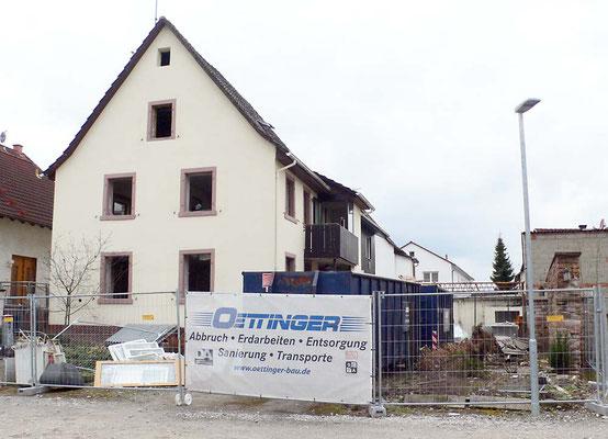 Adlerstr. Nr 72 Abrissbeginn März 2018