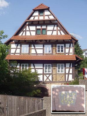 Waldprechtsweier, Haus Friedmann, Talstraße 9