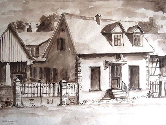 Neudorfstrasse 37, Bäckerei Maier, ca. 1950