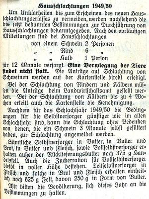 2.11.1949 Gemeindeanzeiger
