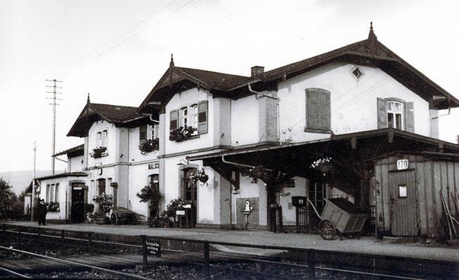 Bahnhof Heimatfreunde Malsch E V
