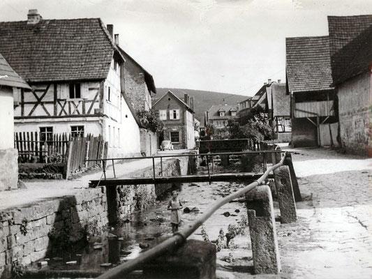 Ochsenbrücke, heute Volksbank