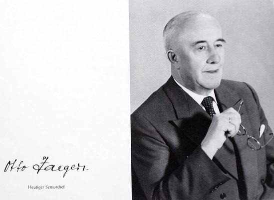 Otto Jäger, Papierfabrikdirektor, Vorbesitzer der Villa
