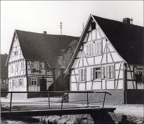 Adlerstraße Häuser Durm und Kunz