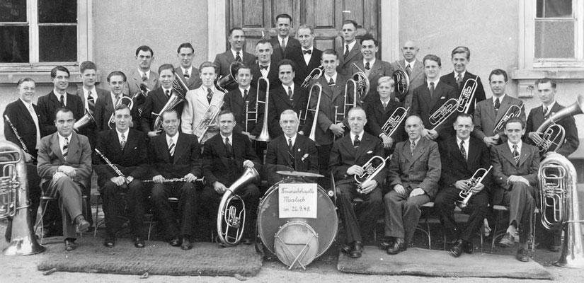 Feuerwehrkapelle 1948