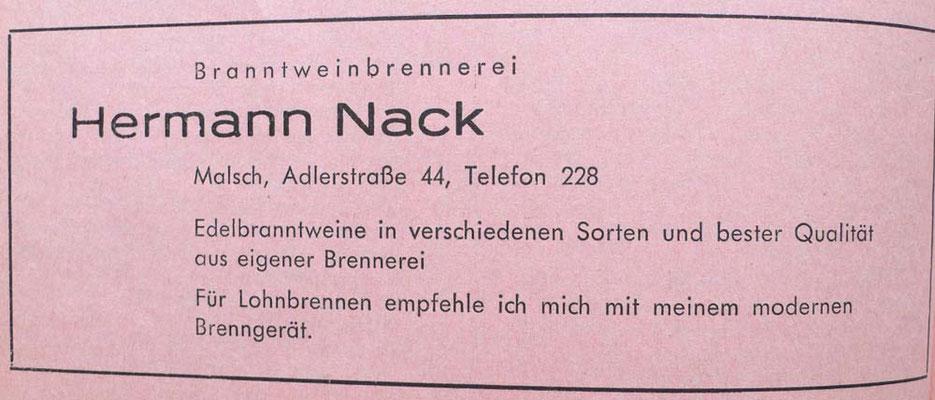 1965 Nack