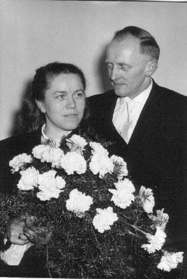 Käthe und Paul Würth, 1960