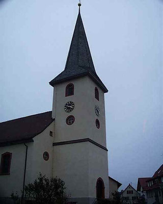 Kirche in Stupferich