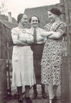Die Töchter Hilda, Johanna, Else.