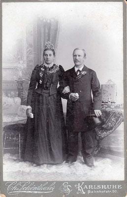 05. Januar 1901 Hitscherich Franziska geb. Kastner & Theodor