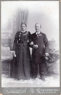 05.01.1901 Hitscherich Franziska geb. Kastner & Theodor