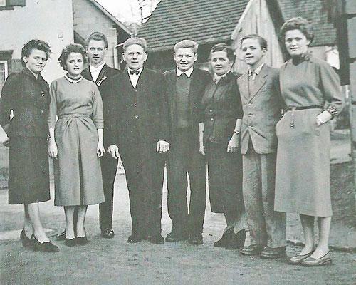 Familienfoto Erwin und Katharina   Rubel