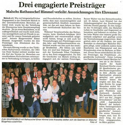 Badische Neuste Nachrichten 16.01.2018