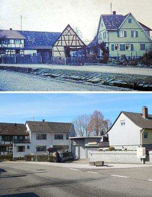 Neudorfstraße mit Federbach
