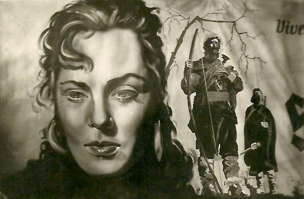 Filmplakat (Ausschnitt) 1952