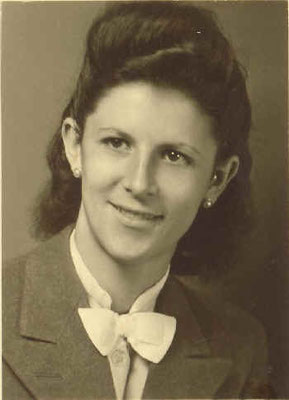 Tochter Elfriede, ca. 1940