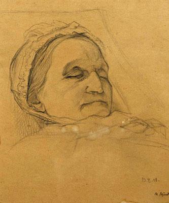 Schindler Mutter Totenbett