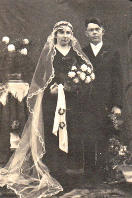 ca 1935 August Koch und Laura geb Siedler