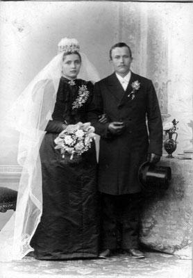 Franz und Klara Hitscherih, geb. Zimmer, 1896