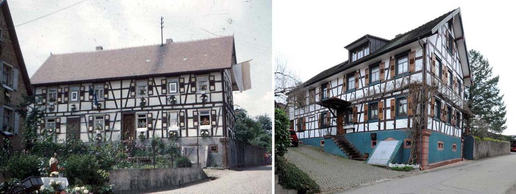 Gasthaus Dachsbau, Friedhofstraße, Foto 2018