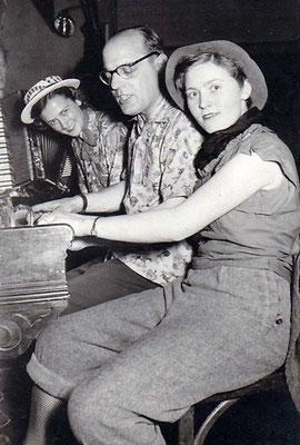 Hilmar Clemens als Pianist bei Tornado