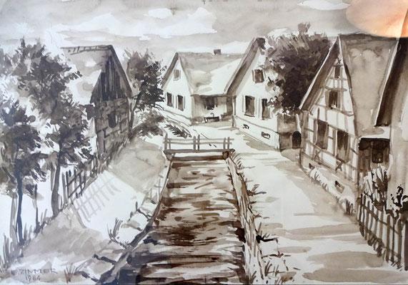 Federbach Häuser Kistner und Laible