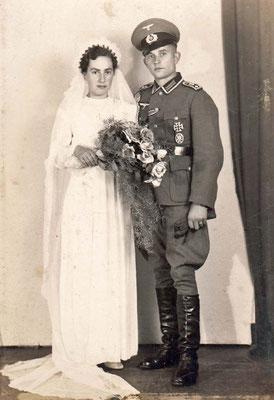 14.7.1942 August & Maria Hitscherich geb. Gräßer