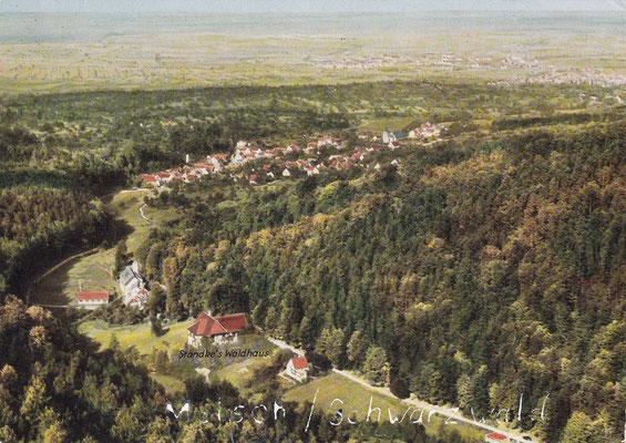 Im Vordergrund Waldhotel Standke, im Tal Mauterer