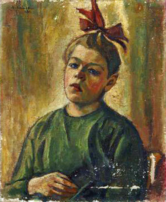 Schindler, Tochter Klara 1922
