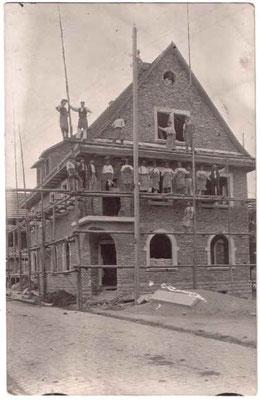 Gasthaus Rössel im Bau 1910