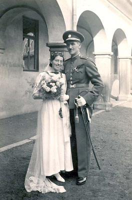 04. Oktober 1937 Duchac Gertrude & Theodor, Reichenau - Sudetenland