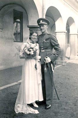 04.10.1937 Duchac Gertrude & Theodor, Reichenau - Sudetenland