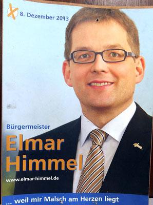 Wahlplakat 2013 Elmar Himmel